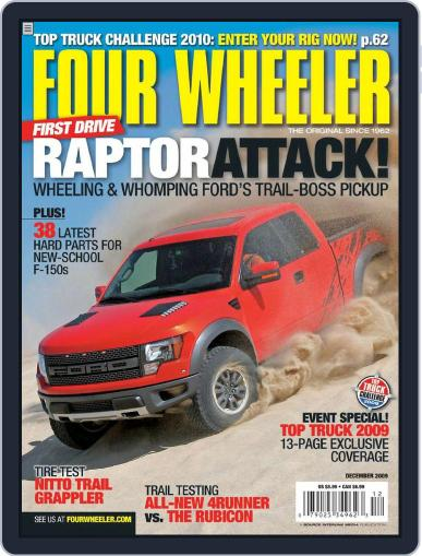 Four Wheeler October 20th, 2009 Digital Back Issue Cover
