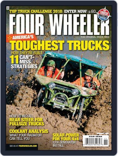 Four Wheeler September 22nd, 2009 Digital Back Issue Cover