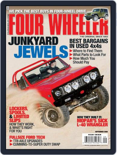 Four Wheeler (Digital) July 21st, 2009 Issue Cover
