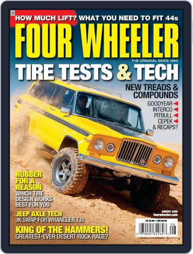 Four Wheeler (Digital) June 23rd, 2009 Issue Cover