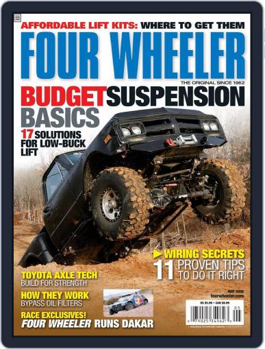 Four Wheeler (Digital) March 24th, 2009 Issue Cover