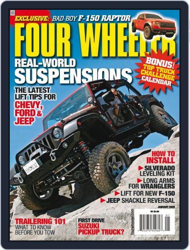 Four Wheeler November 18th, 2008 Digital Back Issue Cover