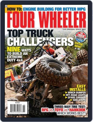 Four Wheeler (Digital) September 23rd, 2008 Issue Cover