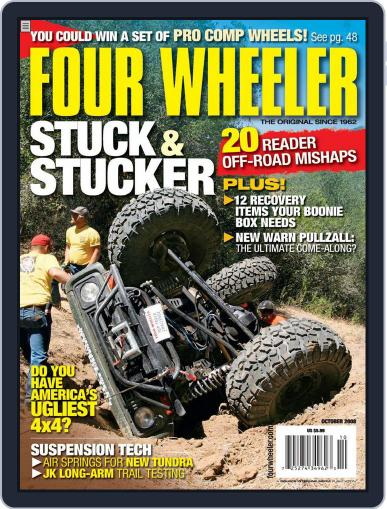 Four Wheeler August 19th, 2008 Digital Back Issue Cover