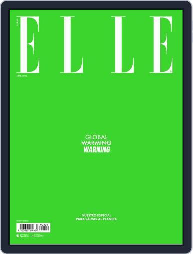 Elle México (Digital) April 1st, 2020 Issue Cover