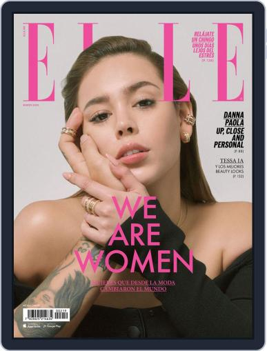 Elle México (Digital) March 1st, 2020 Issue Cover