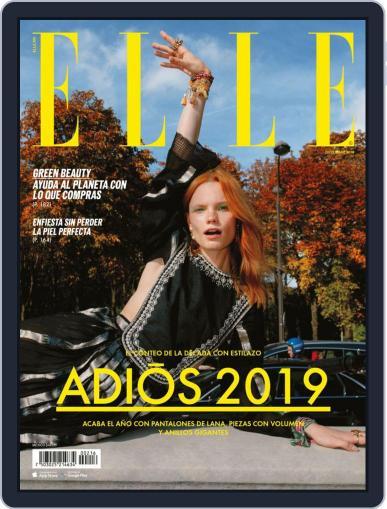 Elle México (Digital) December 1st, 2019 Issue Cover