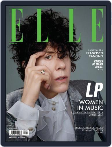Elle México (Digital) October 1st, 2019 Issue Cover
