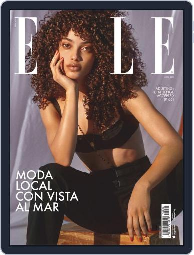 Elle México April 1st, 2019 Digital Back Issue Cover