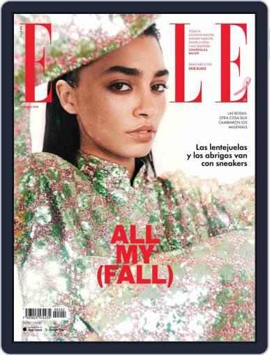 Elle México October 1st, 2018 Digital Back Issue Cover
