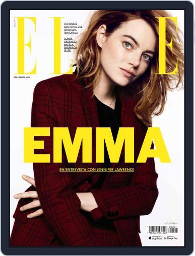 Elle México (Digital) September 1st, 2018 Issue Cover