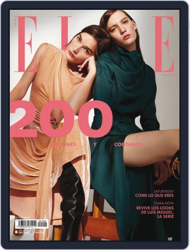 Elle México August 1st, 2018 Digital Back Issue Cover