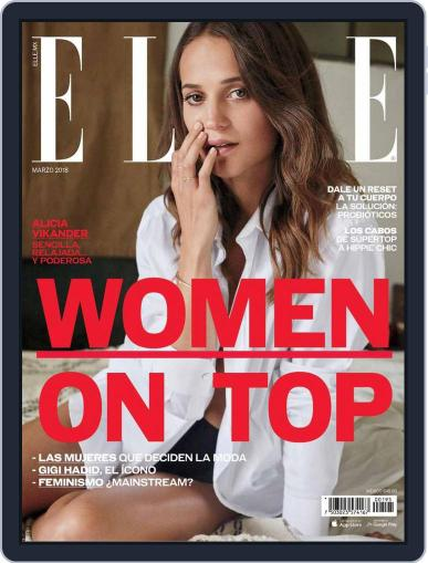 Elle México (Digital) March 1st, 2018 Issue Cover