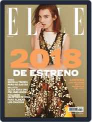 Elle México (Digital) Subscription January 1st, 2018 Issue