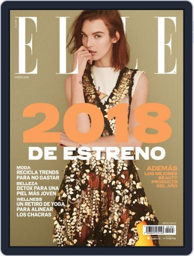 Elle México (Digital) January 1st, 2018 Issue Cover