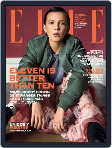 Elle México (Digital) November 1st, 2017 Issue Cover