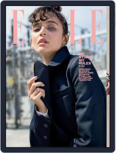 Elle México (Digital) September 1st, 2017 Issue Cover