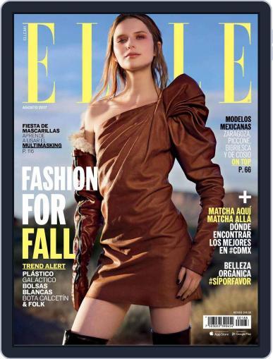 Elle México (Digital) August 1st, 2017 Issue Cover