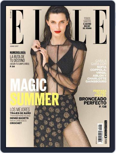 Elle México (Digital) June 1st, 2017 Issue Cover