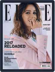 Elle México (Digital) Subscription January 1st, 2017 Issue