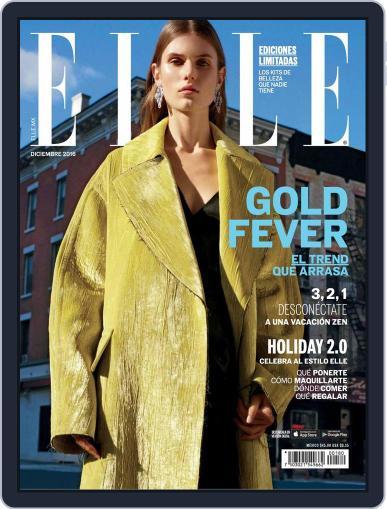 Elle México (Digital) December 1st, 2016 Issue Cover
