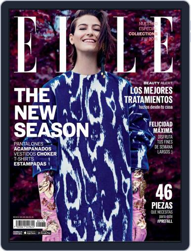 Elle México (Digital) September 1st, 2016 Issue Cover