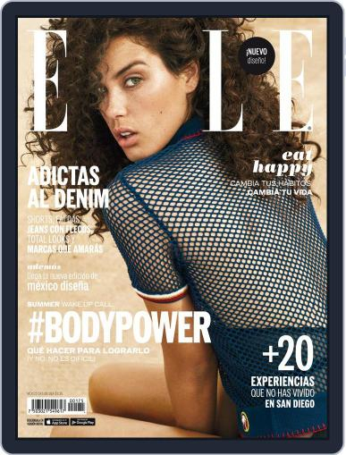 Elle México (Digital) July 1st, 2016 Issue Cover