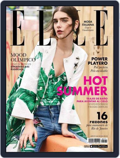 Elle México (Digital) June 1st, 2016 Issue Cover