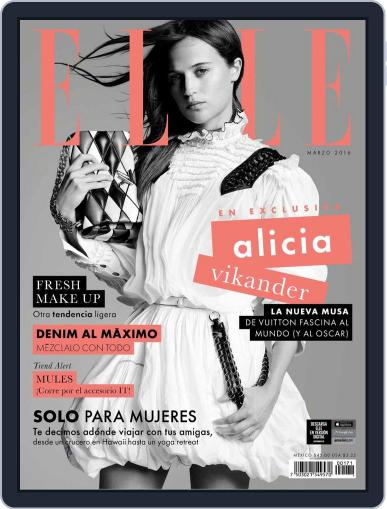 Elle México March 1st, 2016 Digital Back Issue Cover