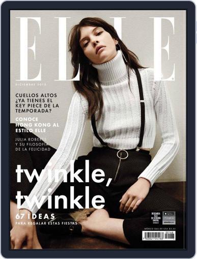 Elle México (Digital) December 1st, 2015 Issue Cover