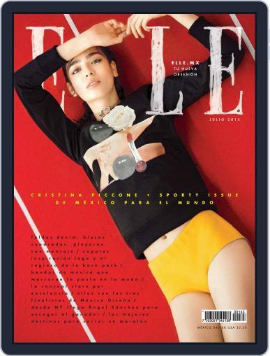 Elle México (Digital) July 1st, 2015 Issue Cover