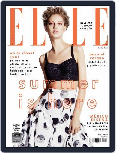 Elle México (Digital) June 1st, 2015 Issue Cover