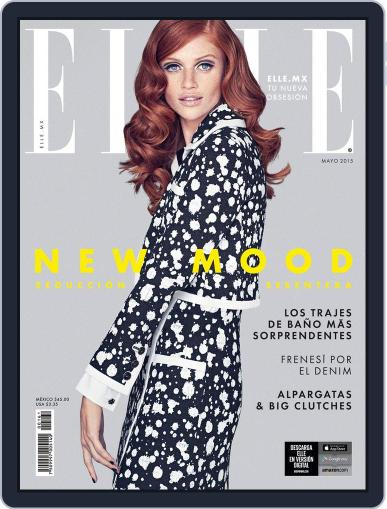 Elle México (Digital) May 1st, 2015 Issue Cover