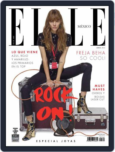 Elle México (Digital) March 31st, 2015 Issue Cover
