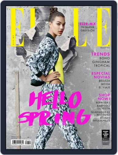 Elle México (Digital) March 1st, 2015 Issue Cover