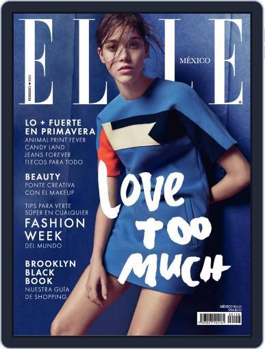 Elle México (Digital) February 1st, 2015 Issue Cover