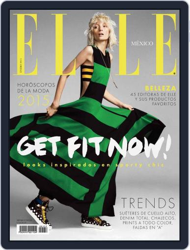 Elle México (Digital) January 29th, 2015 Issue Cover