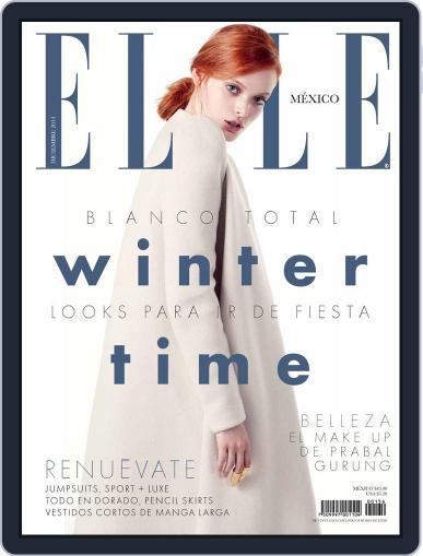 Elle México (Digital) December 2nd, 2014 Issue Cover