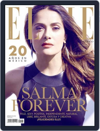 Elle México (Digital) September 8th, 2014 Issue Cover