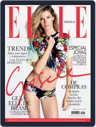 Elle México (Digital) May 13th, 2014 Issue Cover
