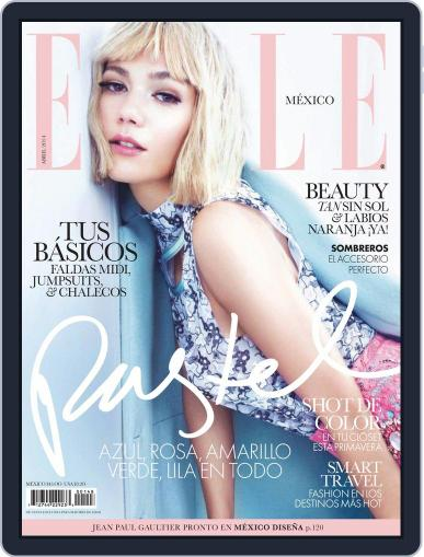 Elle México March 31st, 2014 Digital Back Issue Cover