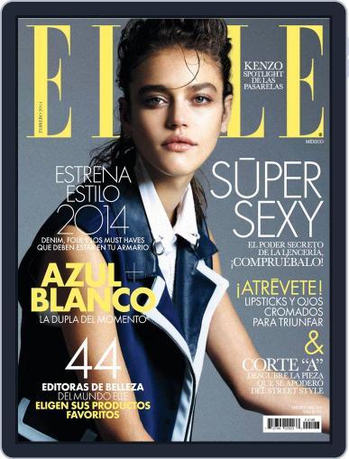 Elle México (Digital) February 6th, 2014 Issue Cover