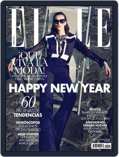 Elle México (Digital) January 15th, 2014 Issue Cover