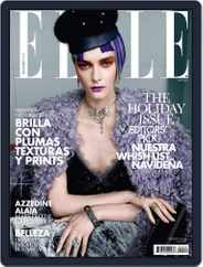 Elle México (Digital) Subscription November 28th, 2013 Issue