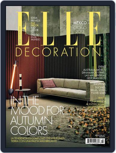 Elle México (Digital) October 30th, 2013 Issue Cover