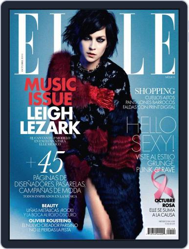 Elle México September 25th, 2013 Digital Back Issue Cover