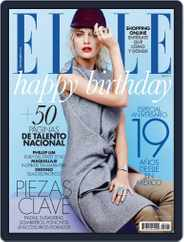 Elle México (Digital) Subscription August 27th, 2013 Issue