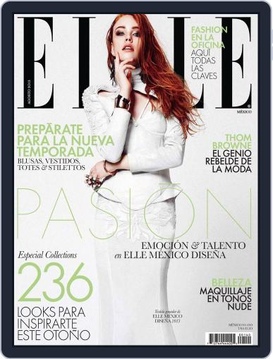 Elle México (Digital) July 29th, 2013 Issue Cover