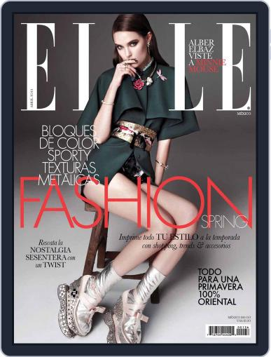 Elle México (Digital) March 26th, 2013 Issue Cover