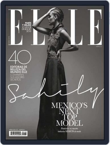 Elle México (Digital) January 3rd, 2013 Issue Cover